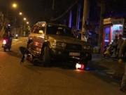 """Tin tức trong ngày - Mất lái, """"xe điên"""" gây tai nạn kinh hoàng trong đêm"""