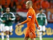 Bóng đá - Robben thừa nhận Hà Lan xứng đáng bị chỉ trích