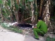 An ninh Xã hội - Bắt nghi can sát hại người tình đốt xác trong bụi chuối