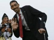 Phi thường - kỳ quặc - Cuộc gặp gỡ của người cao nhất và lùn nhất thế giới
