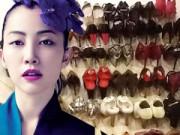 Thời trang - 11 bộ sưu tập giày khổng lồ của sao Việt