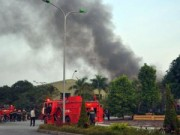 Tin tức trong ngày - Cháy ở khu công nghiệp An ninh - Bộ Công an