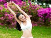 Làm đẹp - Khỏe người, đen tóc bởi 8 động tác yoga