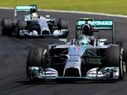 Thể thao - F1: Rosberg không ngán Hamilton, Mercedes hứa công tâm