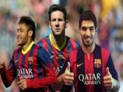 """Bóng đá - Barca: Vị trí nào cho Messi ở bộ 3 """"nguyên tử""""?"""