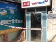 An ninh Xã hội - Ngăn chặn vụ cướp phá cây ATM lúc nửa đêm