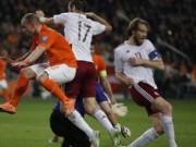 Bóng đá - Hà Lan – Latvia: Song tấu Persie - Robben