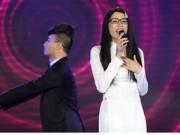 """Ngôi sao điện ảnh - Trang Trần diện áo dài trắng hát """"Mắt nai Cha cha cha"""""""