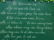 Bạn trẻ - Cuộc sống - Thầy giáo 9x viết chữ đẹp như in