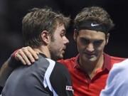 """Thể thao - Nghi án Federer bỏ cuộc vì """"có chuyện"""" với Wawrinka"""