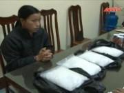 Video An ninh - Ngụy trang 4 kg ma túy đá trong thùng cháo dinh dưỡng
