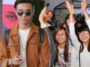 Soobin Hoàng Sơn bị teen vây kín tại lễ ra mắt MV mới