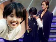 Phim - Con gái Choi Jin Sil nghẹn ngào nhận giải thưởng cho mẹ
