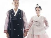 Quỳnh Nga, Doãn Tuấn tung ảnh cưới lãng mạn ở Hàn Quốc