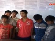 Video An ninh - Bắt 6 thiếu niên ném đá xe khách trên QL14