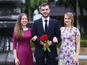 Bạn trẻ - Cuộc sống - Nữ sinh nước ngoài háo hức diện áo dài chụp ảnh kỷ yếu