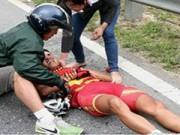 Thể thao - Tay đua Nguyễn Thị Thà đã tỉnh táo sau tai nạn