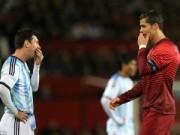 Bóng đá - Bất ngờ với hình ảnh Ronaldo & Messi đầy thân thiện