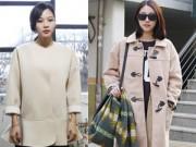 Thời trang - Phá cách trong mùa đông với áo khoác dáng hộp
