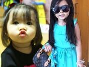 Thời trang - Bé gái 5 tuổi dùng hàng hiệu xa xỉ do fan Ả Rập tặng
