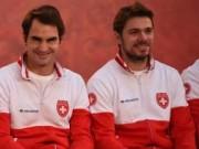 Thể thao - Davis Cup: Wawrinka sẵn sàng, Federer chắc chắn ra sân