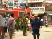 Video An ninh - TP.HCM: Cháy quán ăn, nhiều người hoảng loạn tháo chạy