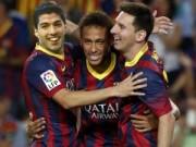 """Bóng đá Tây Ban Nha - Messi – Neymar – Suarez: """"Bộ ba nguyên tử"""" chờ kích hoạt"""