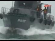 Video An ninh - Tàu cá chìm trên biển Ninh Thuận, 2 thuyền viên mất tích