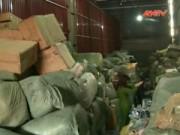 """Video An ninh - Hơn 20 tấn hàng lậu """"tuồn"""" về Hà Nội"""