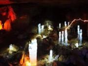 """Du lịch - Những viên """"kim cương"""" khổng lồ trong hang động ở Nga"""