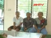 Video An ninh - Băng cướp nhí cầm mã tấu đi cướp tài sản