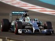 Thể thao - Chạy thử Abu Dhabi GP: Hamilton nhanh nhất