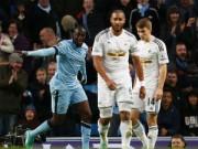Bóng đá - Man City - Swansea: Kiên cường chống trả