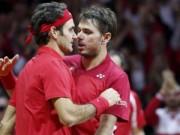 Thể thao - Tin HOT 23/11: Federer & Wawrinka thăng hoa