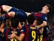 Bóng đá - Lập hattrick, Messi ghi bàn vĩ đại nhất Liga