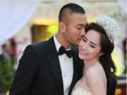 Doãn Tuấn tình tứ ôm hôn Quỳnh Nga tại lễ cưới