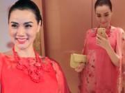 """Phim - Trang Nhung """"bế bụng bầu"""" lên thảm đỏ"""