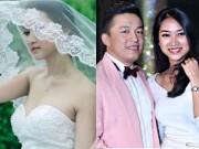 Thời trang - Lam Trường không thích vợ mặc váy cưới quá hở