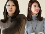 Thời trang - Đẹp và sang trọng tới công sở với áo len cao cổ