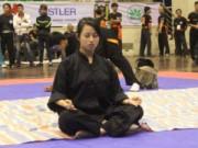 Thể thao - Người con gái mang trong mình niềm đam mê võ thuật đặc biệt