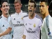 Bóng đá - Thành Madrid áp đảo đề cử đội hình hay nhất UEFA 2014