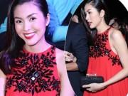 Thời trang - Tăng Thanh Hà mặc váy rộng đi xem thời trang