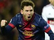 Khi Messi khiến cả làng xuýt xoa thán phục