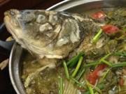 Ẩm thực - Cách làm món cá chép om dưa chua thanh, đậm đà