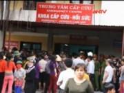 Video An ninh - Ninh Bình: Sản phụ tử vong, hàng trăm người bao vây bệnh viện