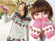 """Thời trang - """"Hô biến"""" áo len thành găng tay trong 30 phút"""