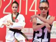 Thời trang - Thí sinh HHVN khoe tài tập võ, pha trà, nhảy hip hop