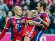 Robben, Gotze tranh bàn thắng đẹp nhất V12 Bundesliga