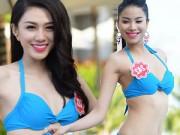 """Thời trang - Phú Quốc """"nóng rực"""" với dàn thí sinh HHVN mặc bikini"""
