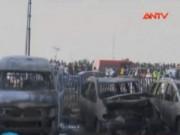Video An ninh - Nigeria: Đánh bom tại bến xe buýt, 40 người thiệt mạng